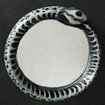 Snake Skeleton Ouroboros Mirror