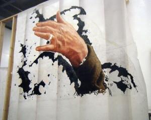 Left Hand in Progress