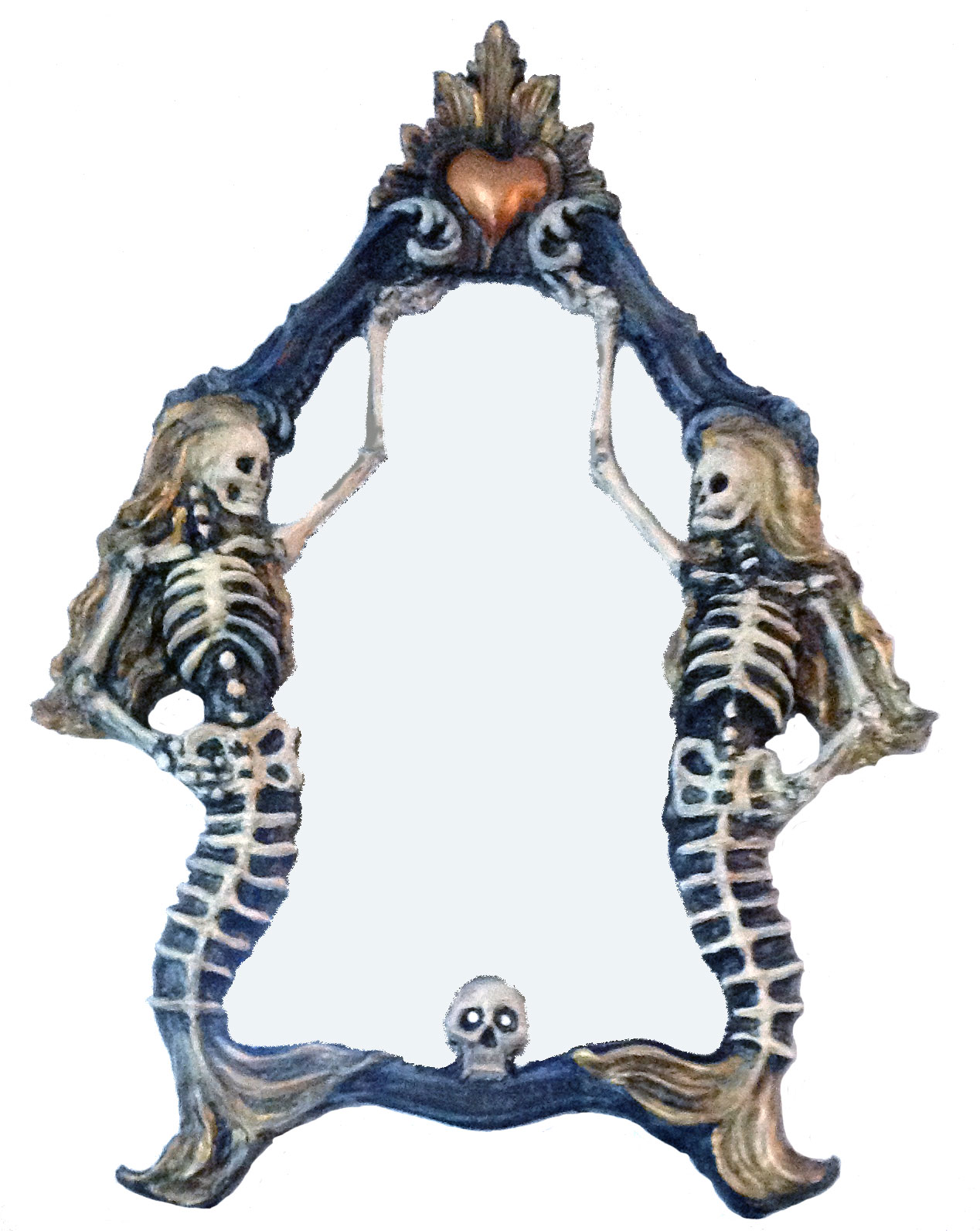 Lost at Sea Mermaid Mirror